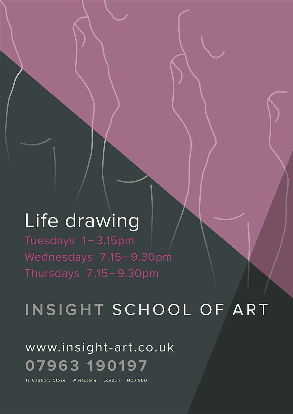 Life Drawing classes, North London