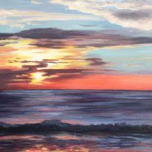 Sunset by Diana Sandetskaya, Insight School of Art