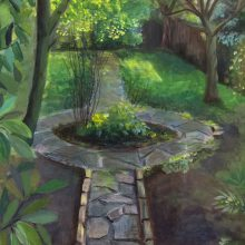 My Garden by Fionnuala Gibson, Insight School of Art
