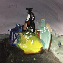 Still life in oils by Rebecca, Insight School of Art