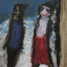 Figures by Gillian Balllance, Insight School of Art