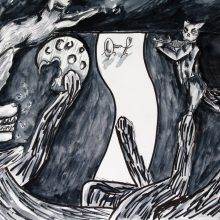 Paula Rego nursery rhyme by Jenna, Insight School of Art