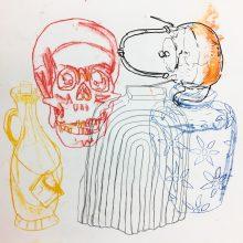Mono Print by Lottie, Insight School of Art