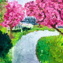 Monet landscape by Olivia, Insight School of Art