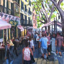 Street Scene  by Phil Homewood, Insight School of Art