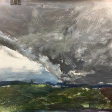 A1 Expressive Landscapes by Priya, Insight School of Art