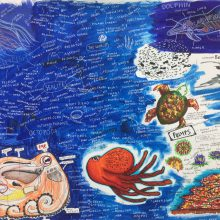 Inspired By Basquait by Rachel, Insight School of Art