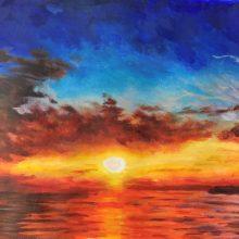 Sunset by , Insight School of Art