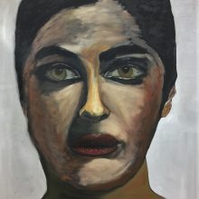 Large Portrait in Oil by , Insight School of Art