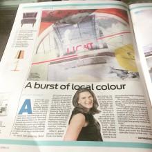 ISoA artist Joanna Gilbert stars in jewish Chronicle