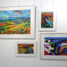 ISoA artist Raina Goran in Norfolk Gallery