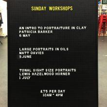 New Sunday Workshops!!!
