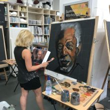 Matt Davis's 'Large Portraits in Oils' Sunday Workshop