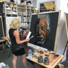 Matt Davis's 'Large Portraits in Oils' Sunday Workshop