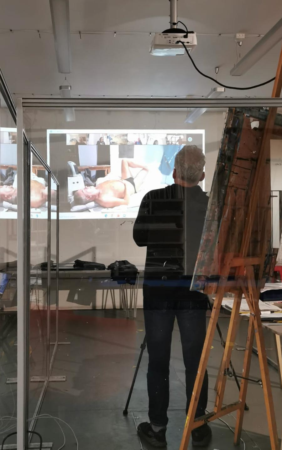 Online life drawing studio North London